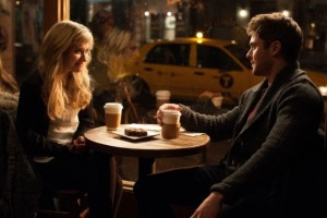 Ellie (Poots) and Jason (Efron) made a strange pair in this movie, with uncomfortable dialogue and interaction.