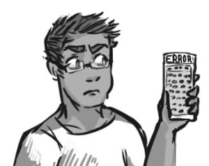boy with calculator emily