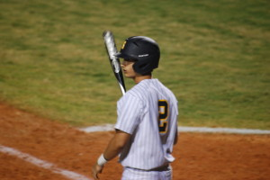 Burchardt went three for three with three doubles, two of them almost having  the homerun distance. Colby scored for three of Steinbrenner's four runs.
