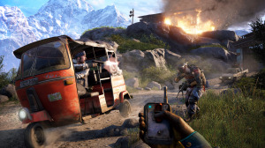 Gameplay from the beginning of Far Cry 4.