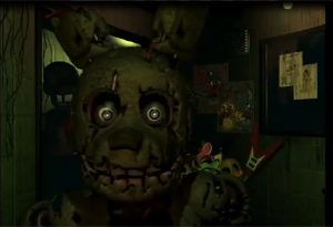 Snaptrap's approaching face is the last thing players see before reaching the game over screen.