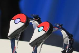 Pokemon Go Plus watch-like bracelets. (www.ign.com)