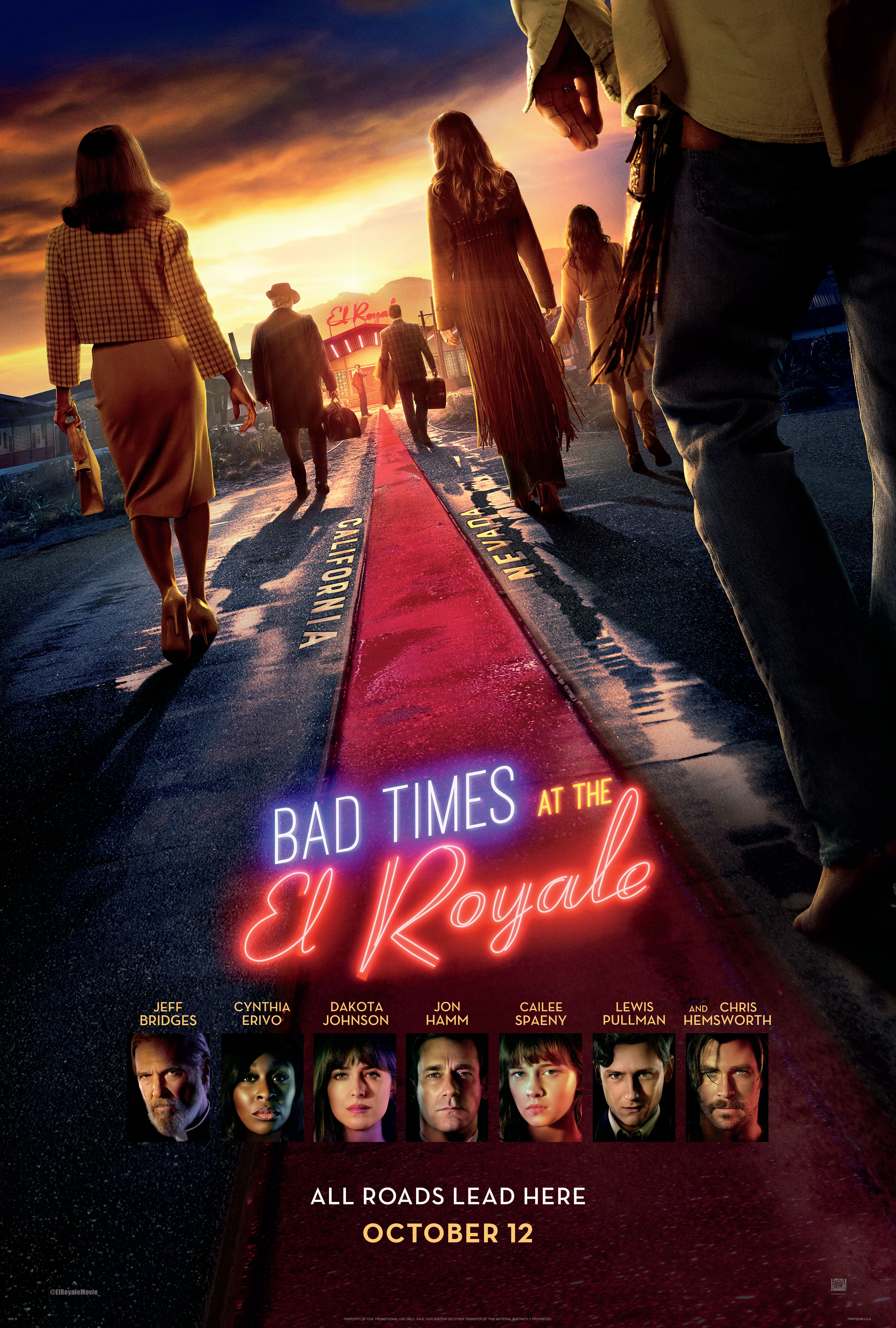 """Bad Times at the El Royale"""" was a bad time – The Oracle"""
